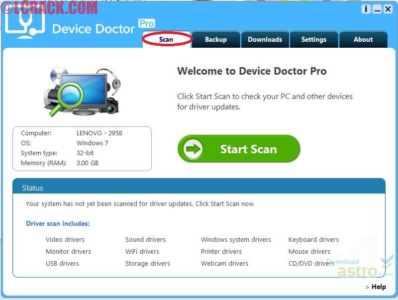 Device Doctor Pro 3.1 Full Crack Incl License Key