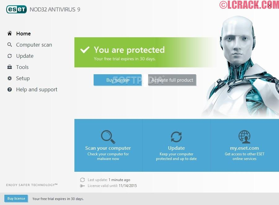 Eset Nod32 2017 v10 Activation Key + Username And Password