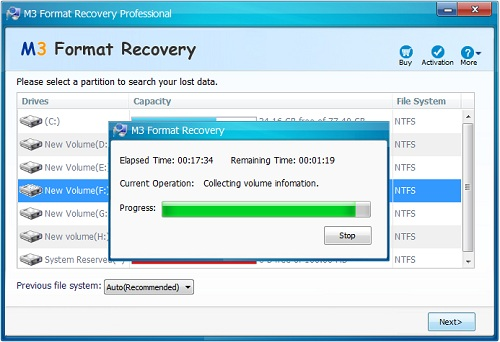 M3 Data Recovery 5.6 Crack Incl Serial Key