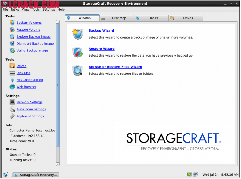 StorageCraft Recovery Environment 5.2.6 ISO File (1)