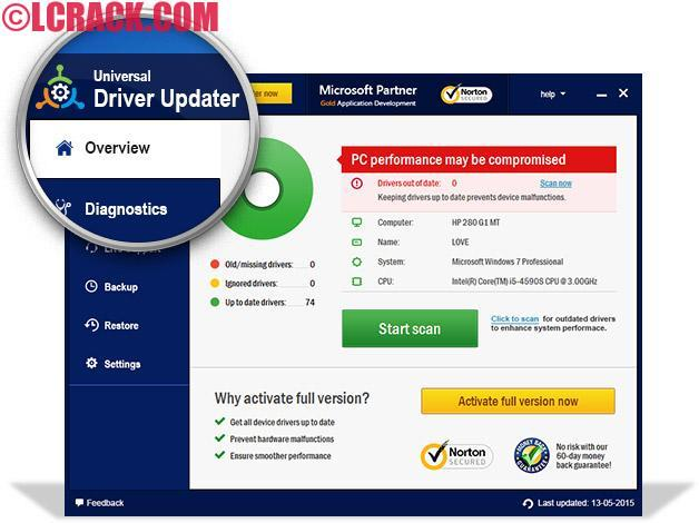 Universal Driver Updater 1.0.0.1 License Key (2)