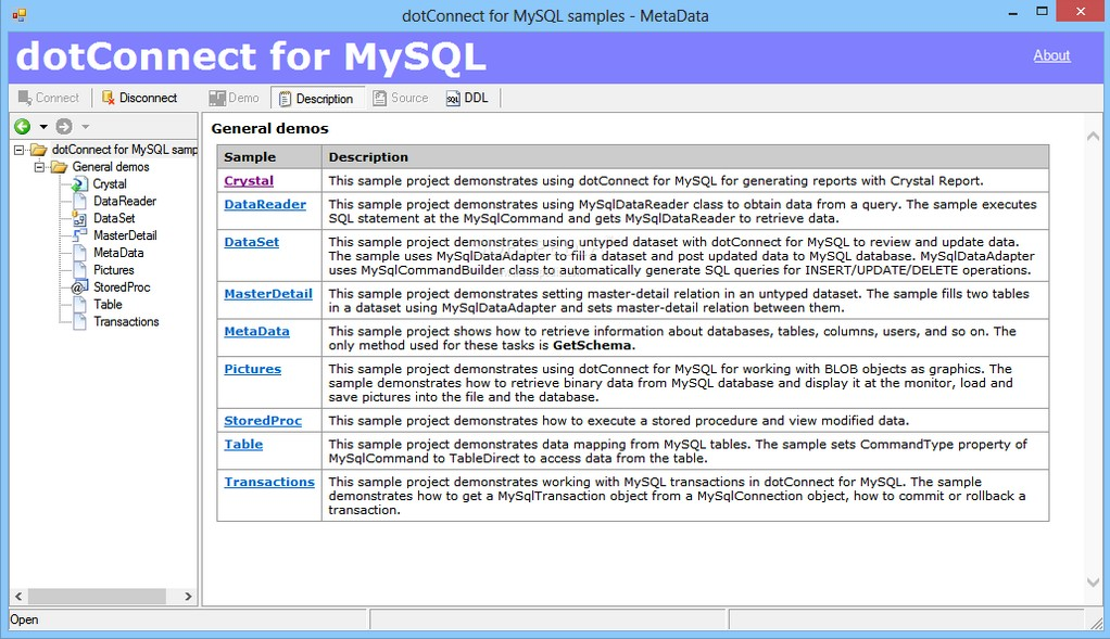 dotConnect for MySQL 8.19 Professional Crack Free Download