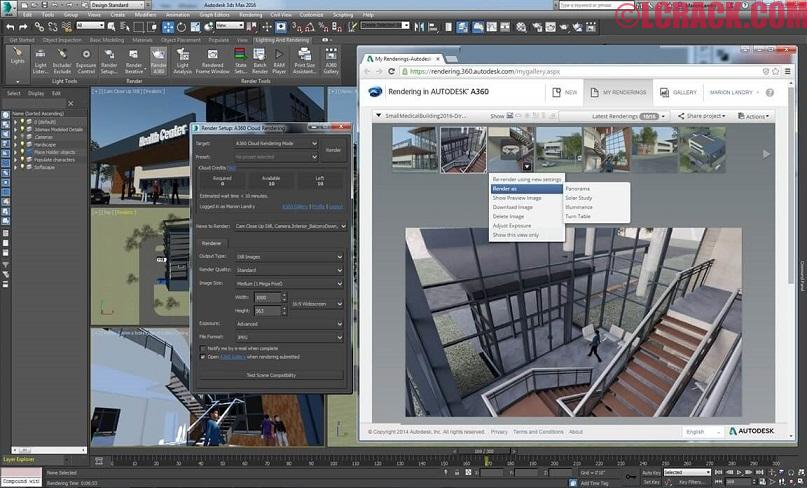 Autodesk 3ds Max 2017 19.0 Crack Full Version Download (3)