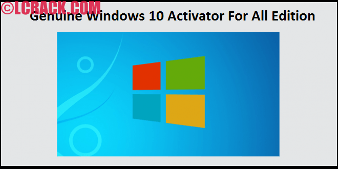 Genuine Windows 10 Activator For All Edition (1)