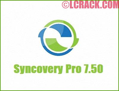 Syncovery Pro 7.50 Crack Incl License Key Free Download