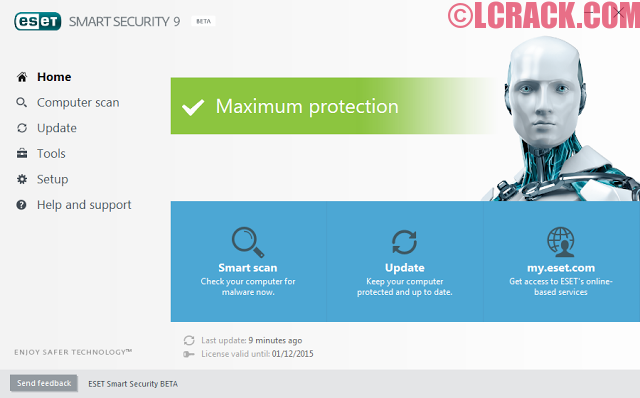 ESET Smart Security 2017 v10 License Key Till 2020 [LATEST]