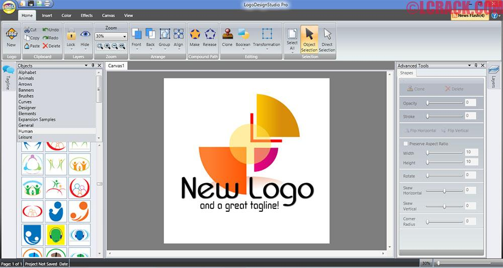 Logo Design Studio Pro 4.5.2 Serial Number, Crack Download (1)