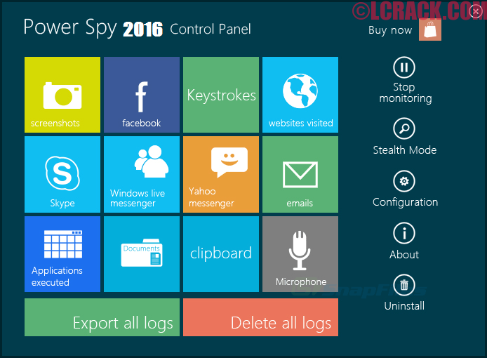 Power Spy 12.3 Crack + Serial key Free Download