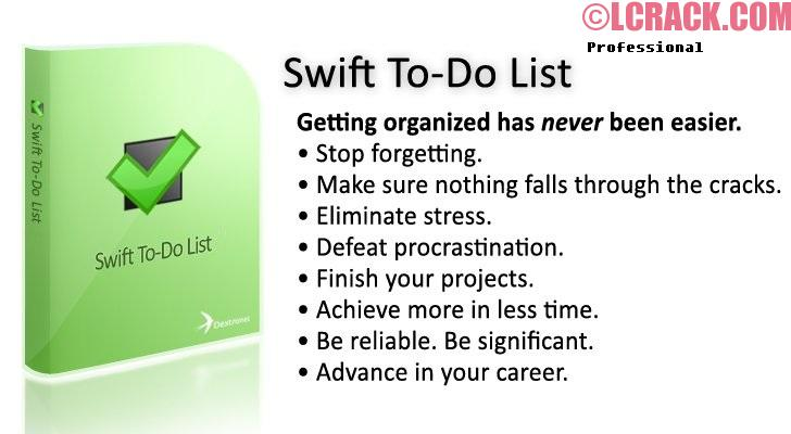 Swift To-Do List Professional 9.524 Crack + Keygen Download