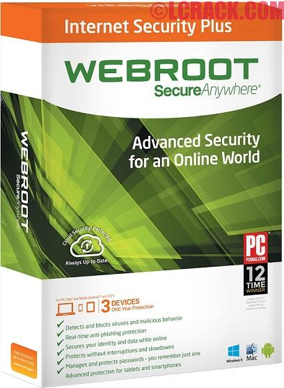 Webroot SecureAnywhere Internet Security Plus 2016 Final Crack