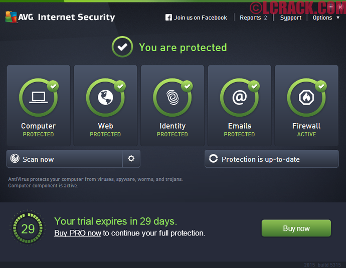 AVG Internet Security 2016 Serial Key Till 2018 Download
