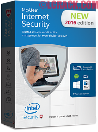McAfee Internet Security 2016 18.0 Full Crack Incl License Key