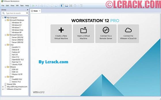 VMware Workstation Pro 12 Serial Key Plus Crack