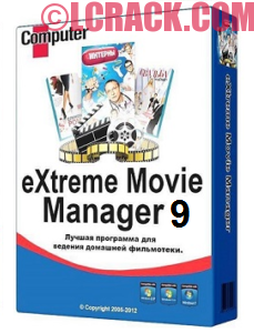 eXtreme Movie Manager 9 Crack & Keygen Free!