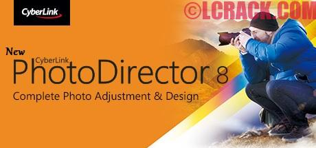 CyberLink PhotoDirector 8.0 + Crack Free Download