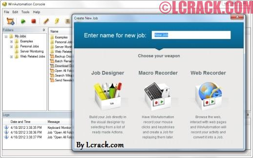 WinAutomation 7.0 Crack Incl License Key Download