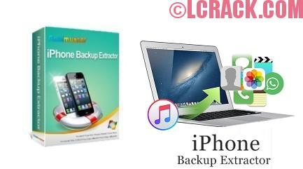 iPhone Backup Extractor 7.4.2 Activation Key 2017 Crack