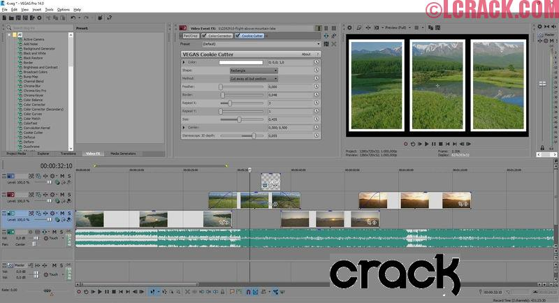 MAGIX Vegas Pro 14.0.0 Full Version Crack