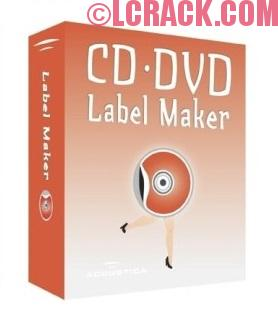 RonyaSoft CD DVD Label Maker 3.2.9 Crack Serial Key