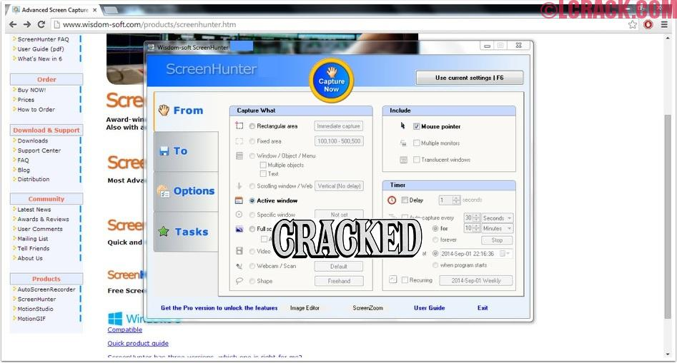 ScreenHunter Pro 7.0 Crack Incl Serial Key