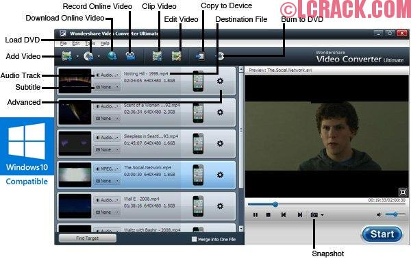 Wondershare Video Converter Ultimate 9 Full Crack