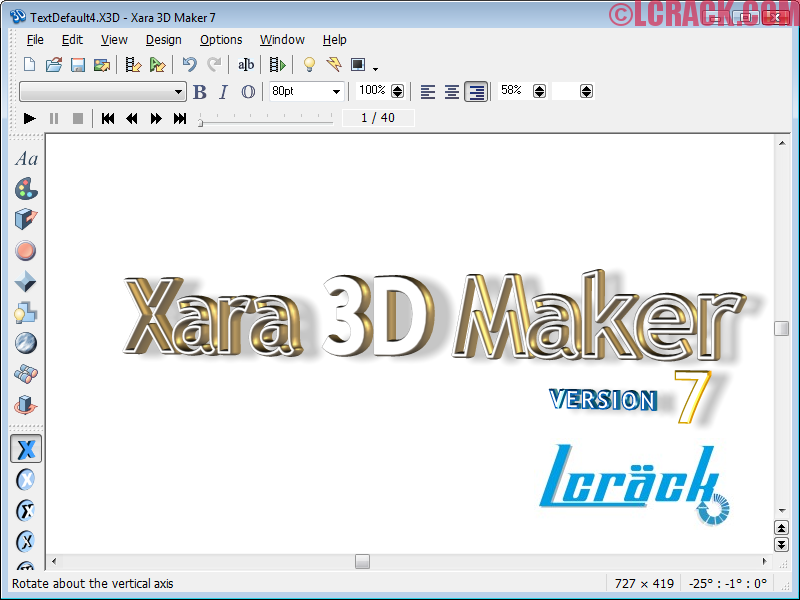 Xara 3D Maker 7 Serial Number Plus Crack Full Free!