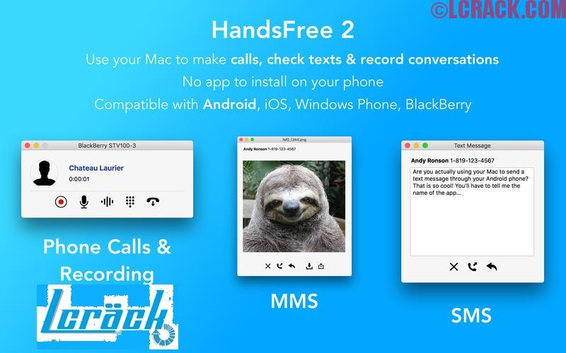HandsFree 2.6.0 FULL + Crack MAC Free Download