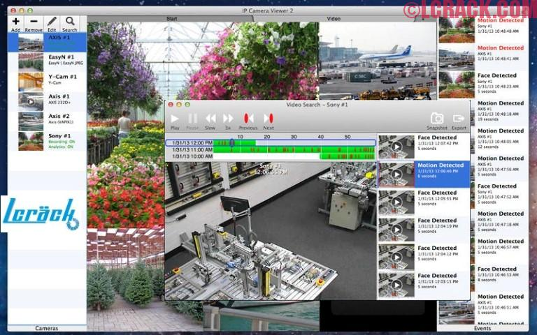 IP Camera Viewer 5.18 FULL + Crack Mac OS X Download