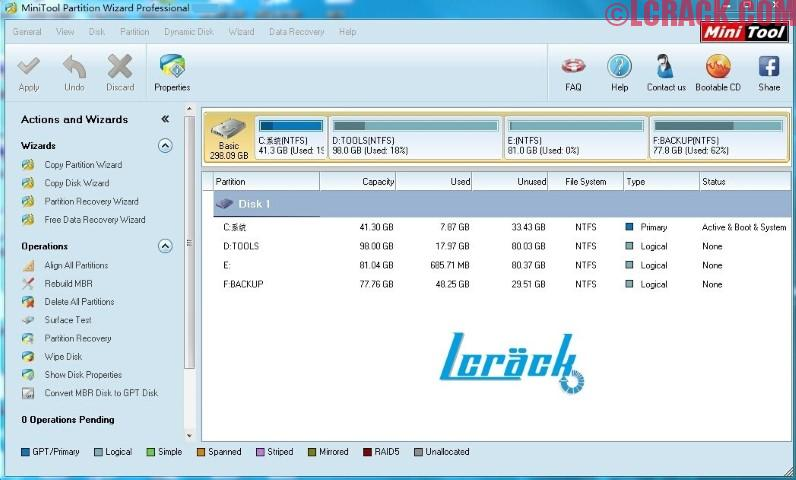 MiniTool Partition Wizard Pro 10.2 Full Keygen Free!