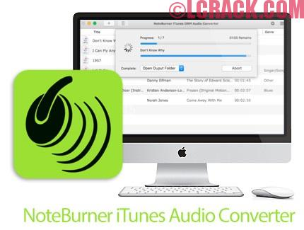 NoteBurner iTunes Audio Converter 2.1.5 Full + Crack Mac OS X