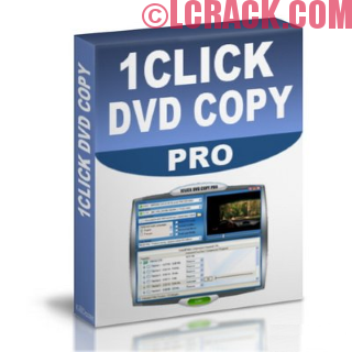 1CLICK DVD Copy Pro 5.1.2.0 Crack + Activation Code