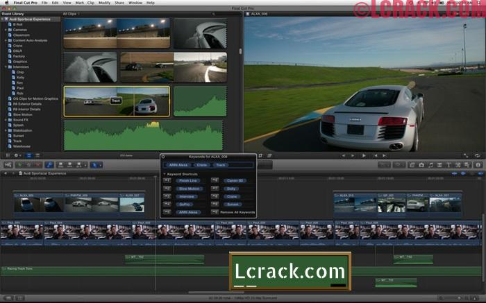 Final Cut Pro 10.3 Crack + Serial Number For [MacWin]