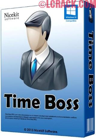 Time Boss PRO 3.22 Plus Crack Free Download