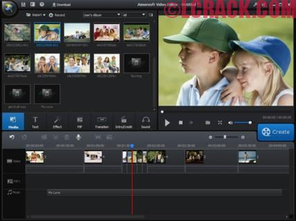 Aimersoft Video Editor 3.6.2 Crack + Serial Key is Here