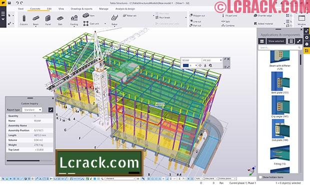Tekla Structures 2017 License Incl Crack Free Download