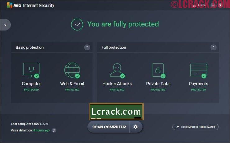 AVG Internet Security Unlimited 2017 17.5 Crack + Key
