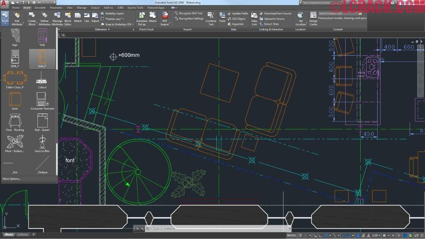 Autodesk AutoCAD 2018.1 Crack Full Free Download