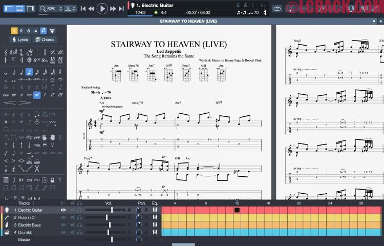 Guitar Pro 7 + Crack Free Download For Win-Mac