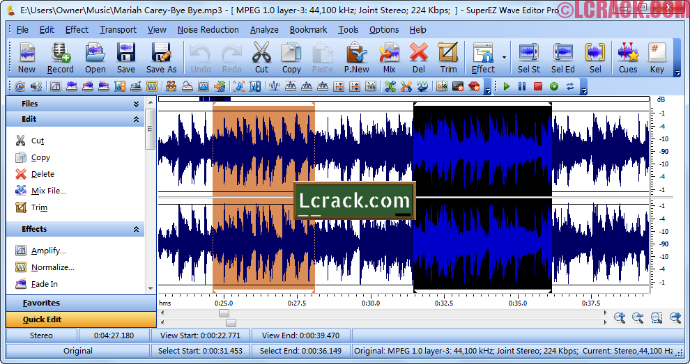 SuperEZ Wave Editor Pro 8.8.1 Full Keygen Free Download