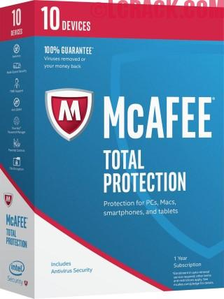 McAfee Total Protection 2017 15.0 Full Version Crack