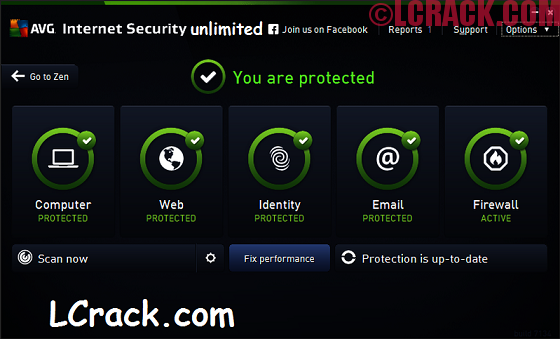 AVG Internet Security Unlimited 17.6.3029 License Key