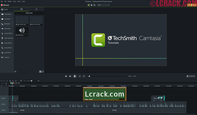Camtasia Studio 2019.0.8 Crack And Serial Key
