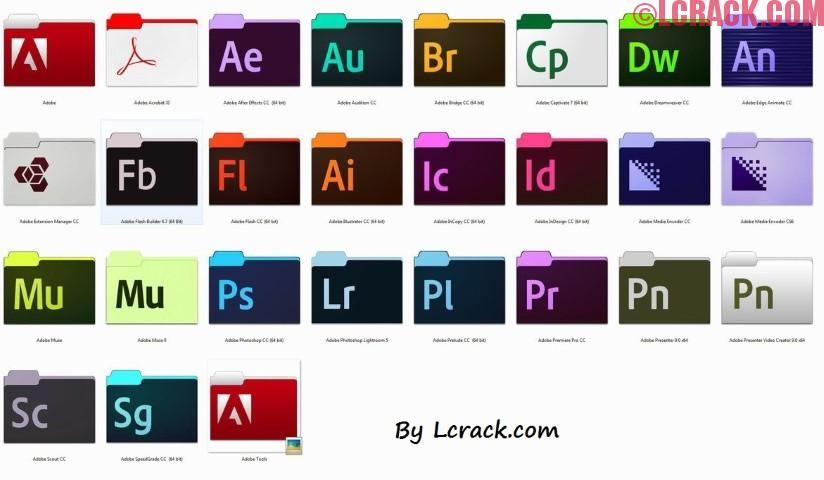 Adobe Creative Cloud Master Collection 2018 Full Crack