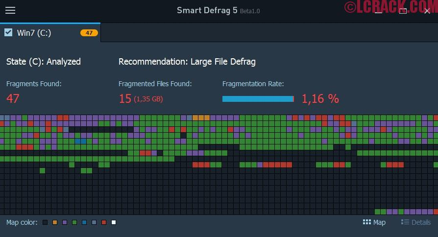 IObit Smart Defrag 5.7.0 Crack License Key