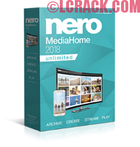 Nero MediaHome 2018 3.4 Unlimited Serial Key