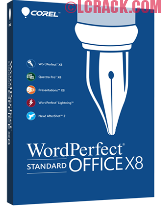 Corel WordPerfect Office Pro X8 18.0 Serial Number