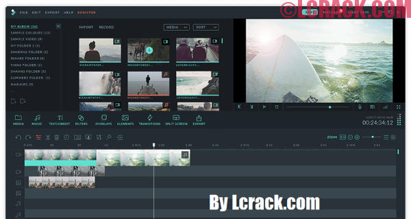 Filmora Video Editor 2018 Crack Serial Key