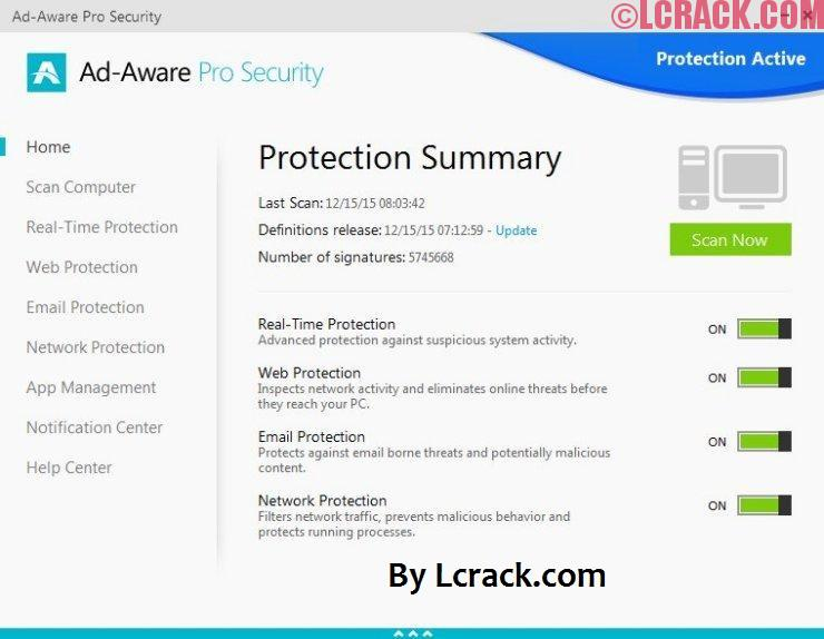 Adaware Pro Security 2018 Full Serial Key