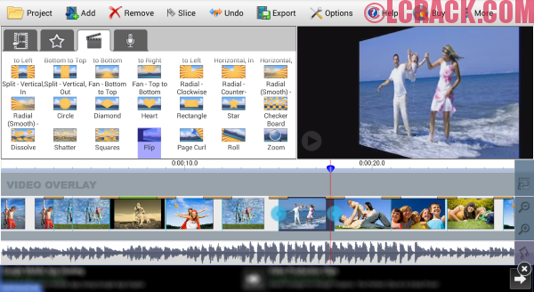 VideoPad Video Editor 5.31 Full Crack
