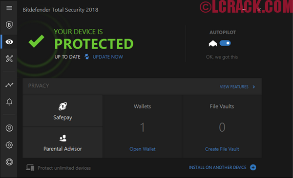 Bitdefender Total Security 2018 With Keygen